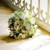 Brautstrauß klassisch rund gebunden