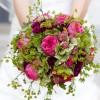 Brautstrauß, klassisch rund gebunden