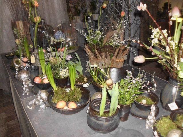 Pflanzungen und Gestecke
