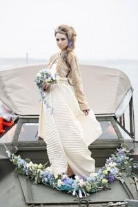 Brautstrauß und Autoschmuck