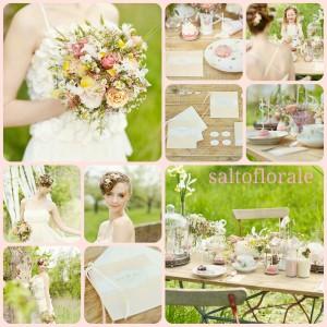 Sommerliche Hochzeit im Vintagestyle